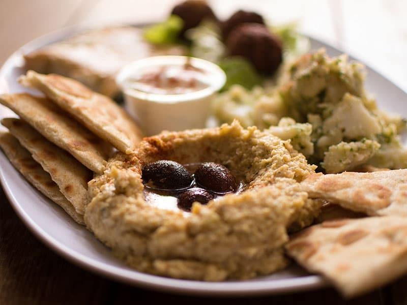 hummus egyptian meze Egyptian cuisine