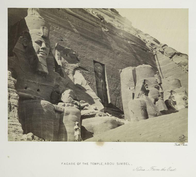 abu simbel old photo Rare Old Photos of Egypt