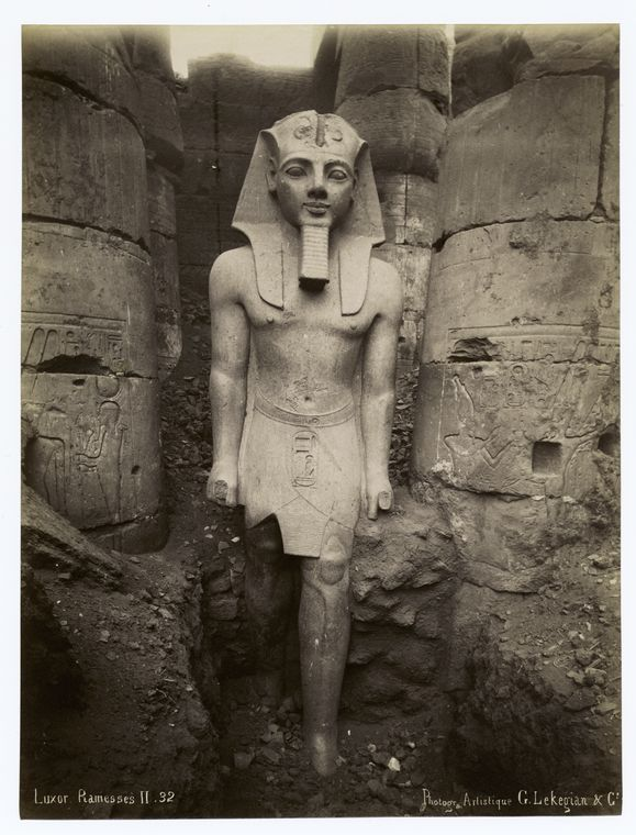 luxor ramses 2 Rare Old Photos of Egypt