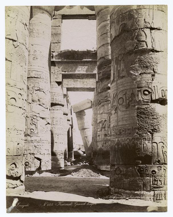 old karnak photo Rare Old Photos of Egypt
