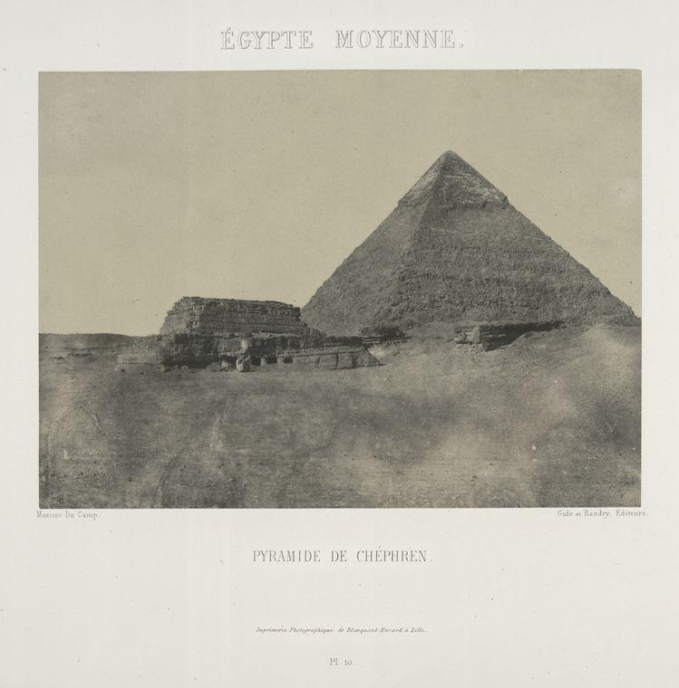 pyramids of giza Rare Old Photos of Egypt