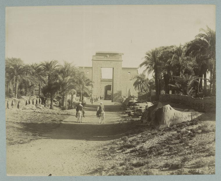 temple of karnak old photo Rare Old Photos of Egypt