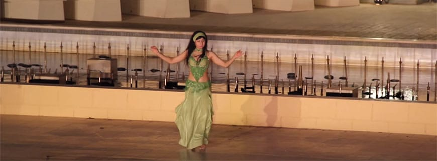 belly dance show egypt excursion