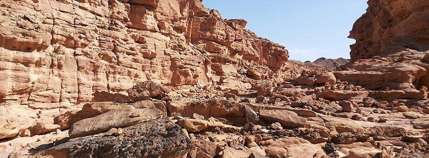 colored canyon tour egypt
