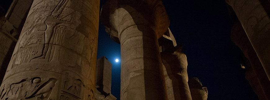 columns karnak temple