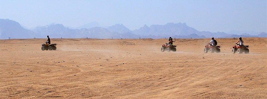 desert safari quad excursion