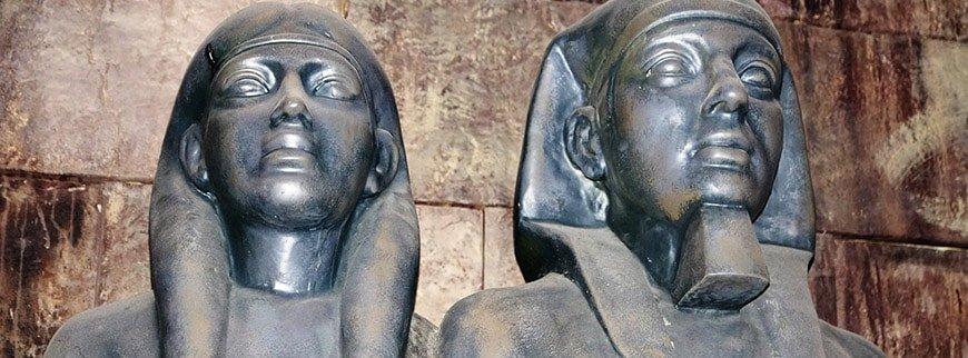 figures egyptian museum tour