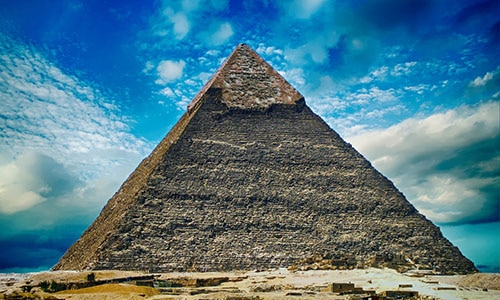 pyramid cairo by plane tour