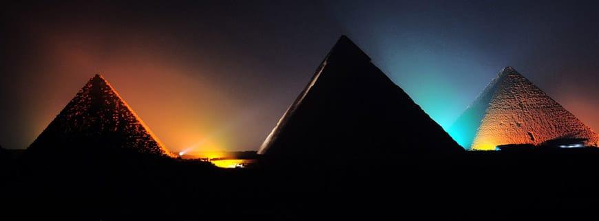 pyramid sound and light show tour cairo egypt