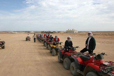 quad tour desert from sharm marina 400x267 Sharm El Sheikh Shore Excursions