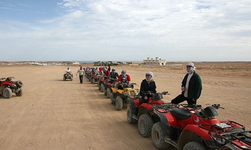 quad tour desert from sharm marina