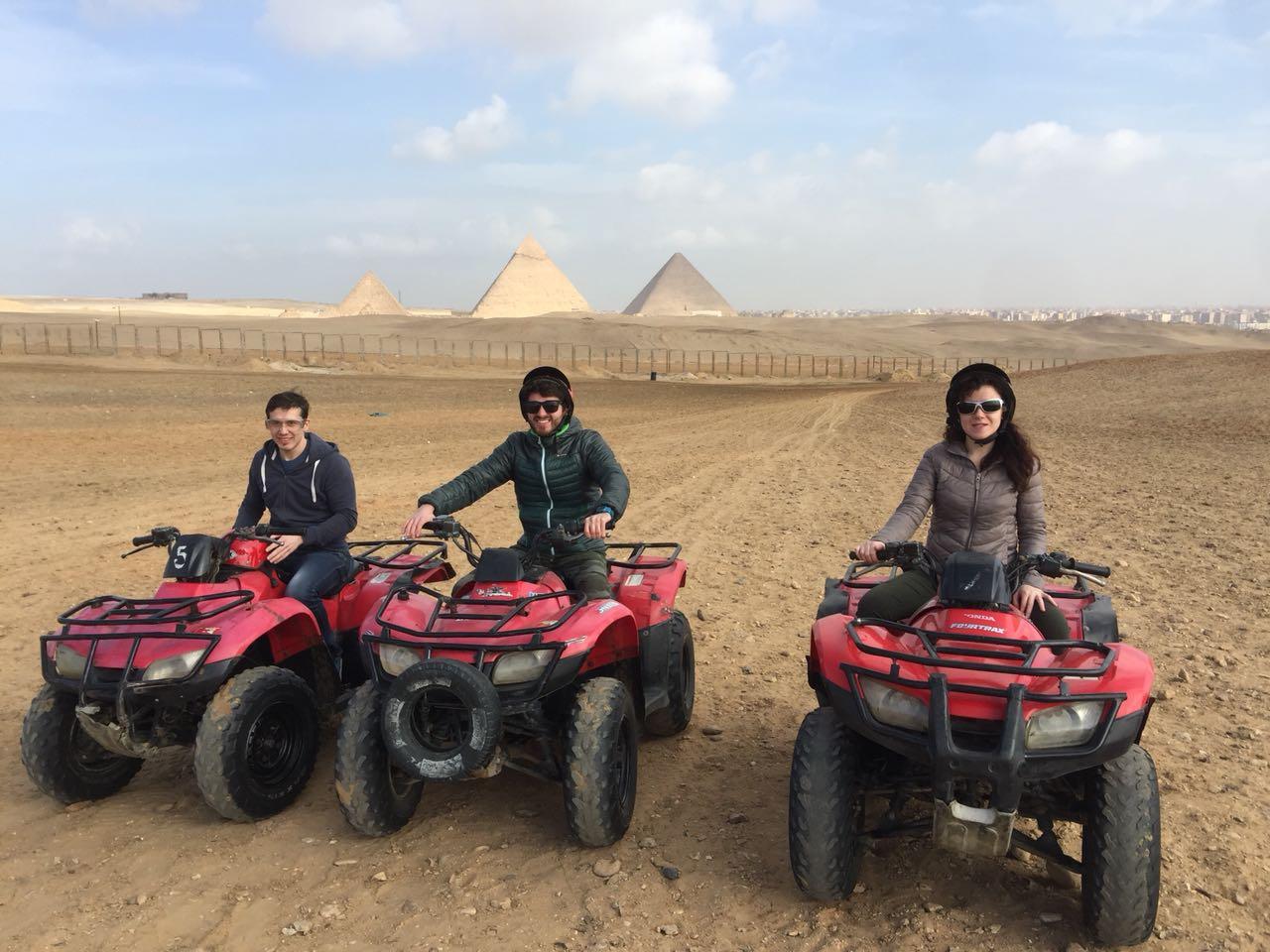 quad tours pyramids giza