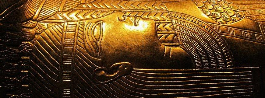 replica of tutankhamuns treasure pharaonic village tour