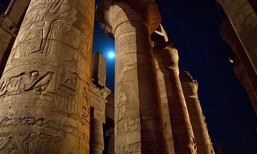 sound and light show tour at karnak temples luxor