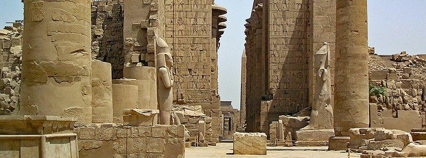 tour to karnak temple luxor egypt