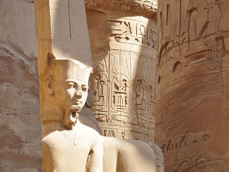 egypt luxor temple karnak Istorija Egipta