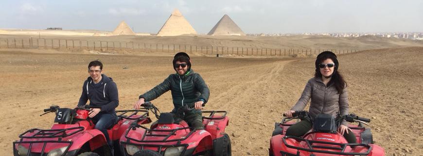 quad tours pyramids giza cairo